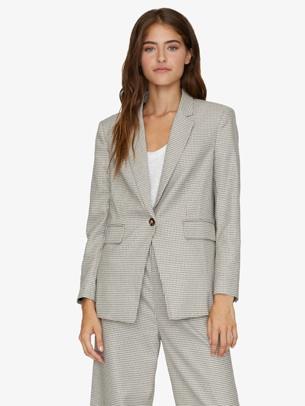 East Port Blazer Modern Check