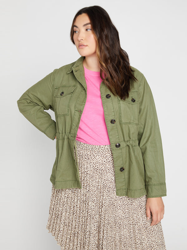 Every Which Way Jacket Parachute Green Inclusive Collection