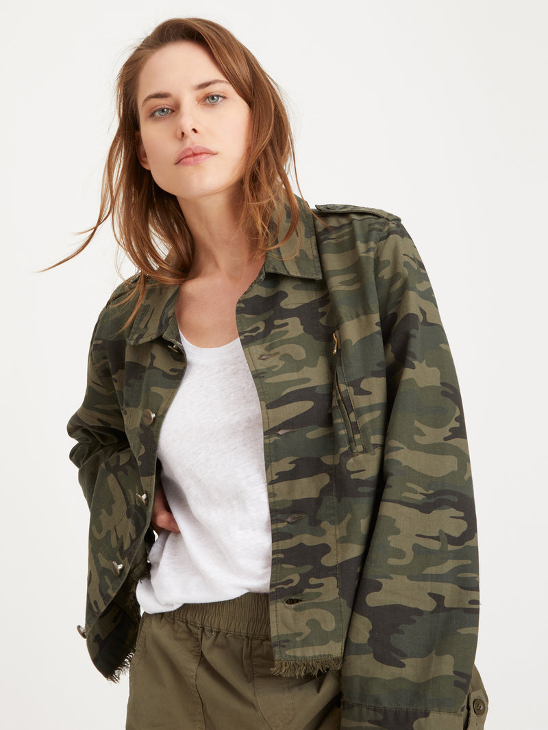 Jayden Jacket Safari Camo - Jacket