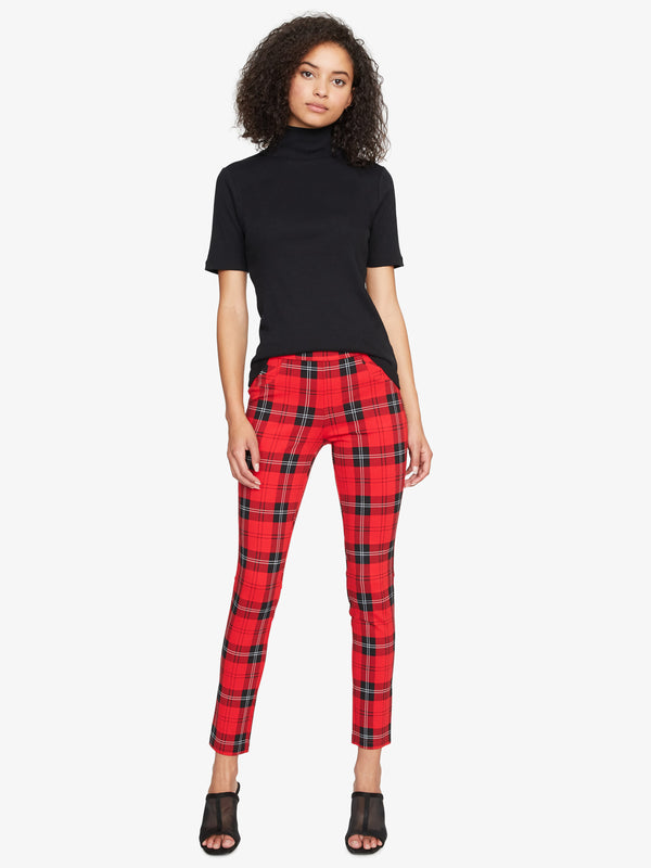 Grease Legging Party Red Plaid
