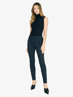 Grease Legging Window Pane Plaid