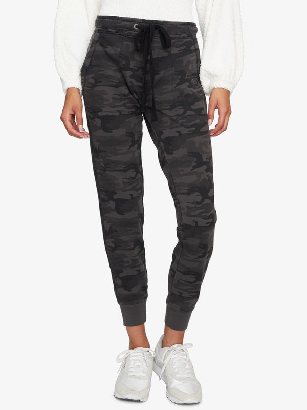 Peace Brigade Jogger Pant Black Little Hero