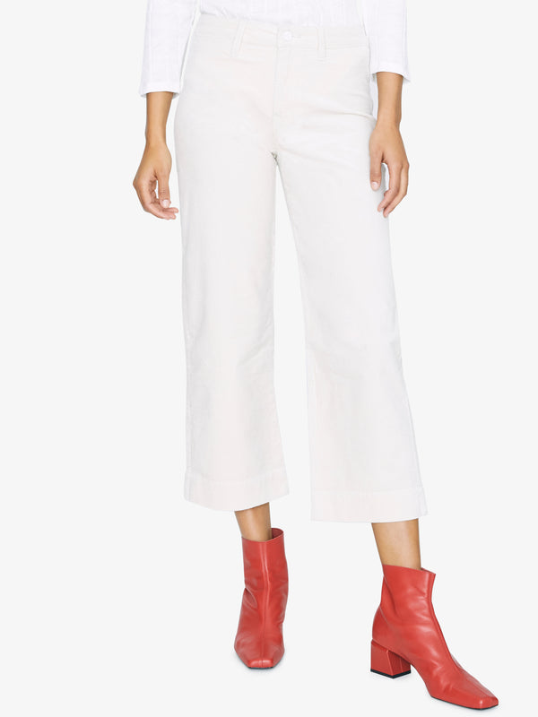 Quinn Crop Trouser Moonstone
