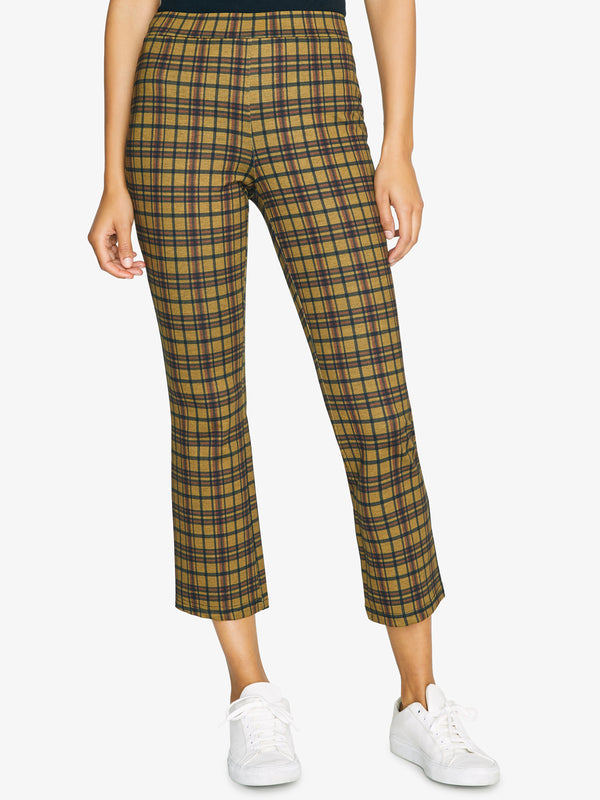 Carnaby Kick Crop Ashbury Plaid