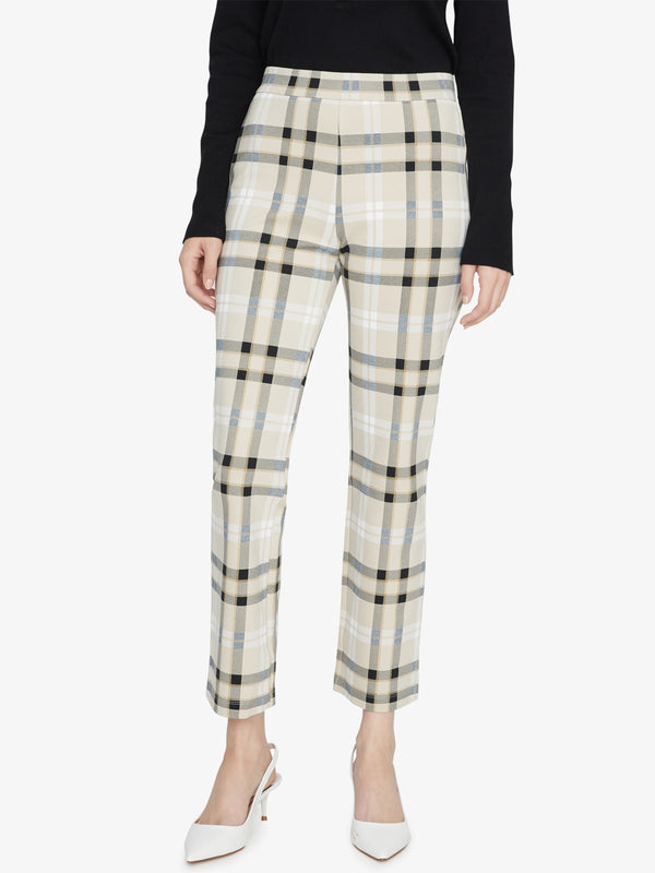 Carnaby Kick Crop Legging Avalon Plaid