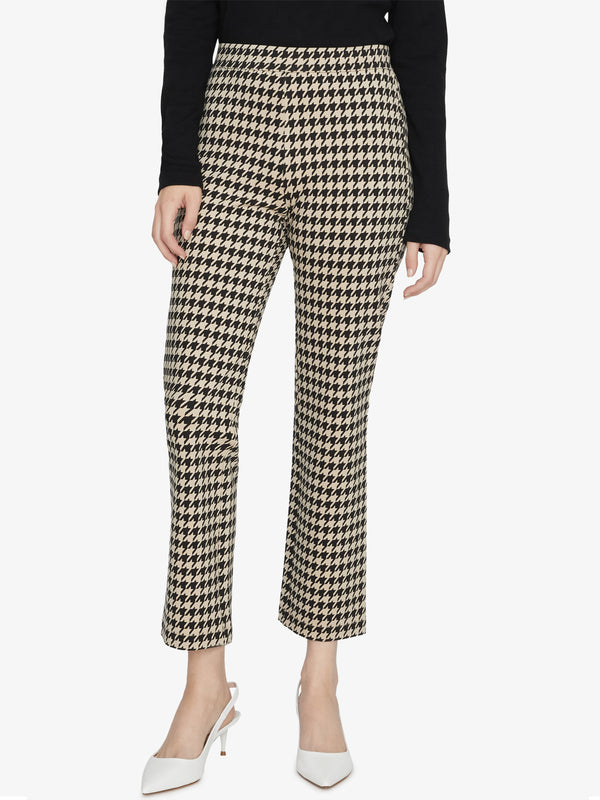 Carnaby Kick Crop Legging Maxwell Houndstooth