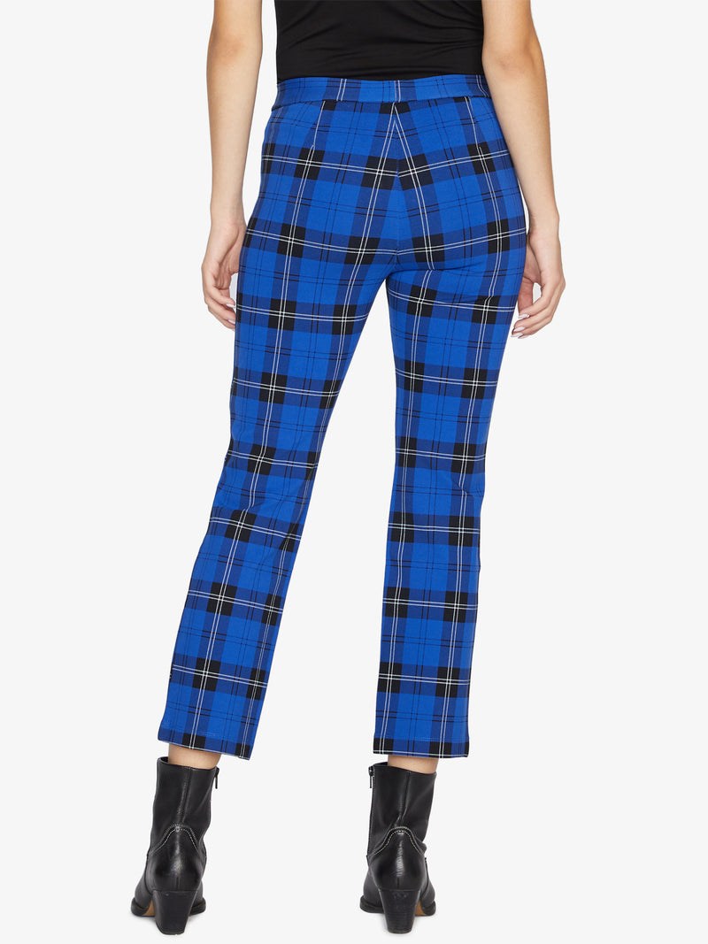 Carnaby Kick Crop Marquis Plaid