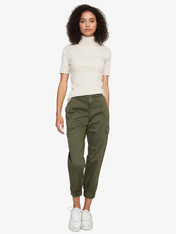 Commander Army Green Cargo Pant