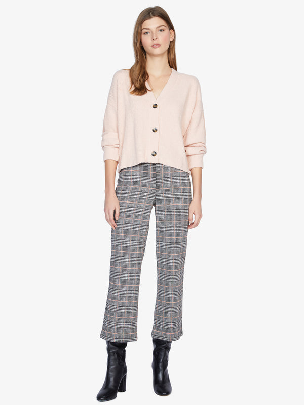 The Runway Crop Pant Fizz Plaid
