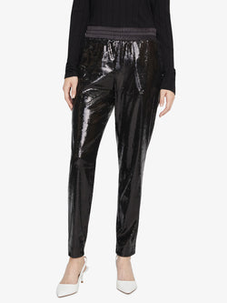 Night Fever Pant Black Sequin