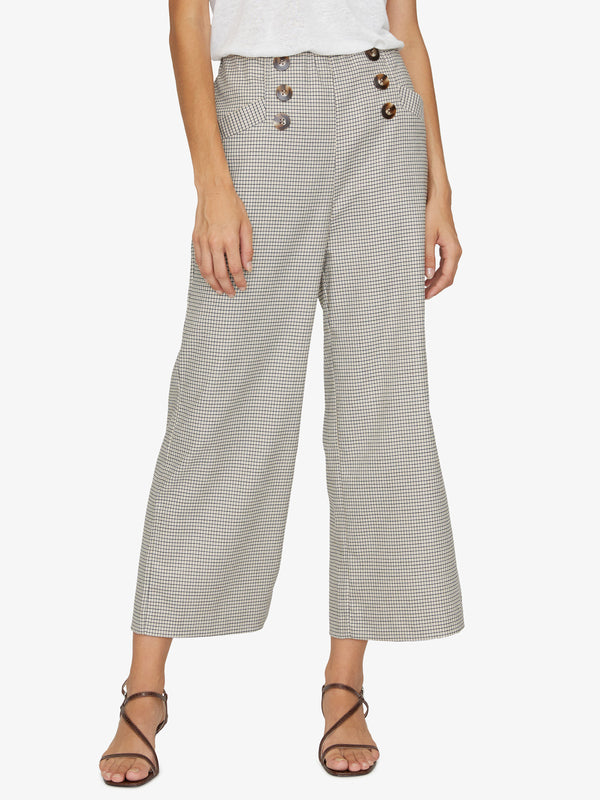 The Marina Pant Modern Check