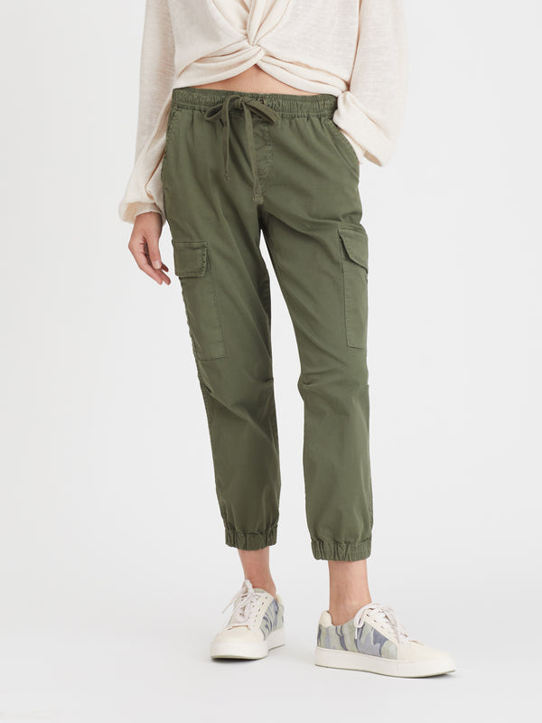 Squad Crop Jogger Fatigue - Fatigue / 24 - Pant