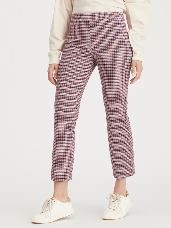 Carnaby Kick Crop Destin Plaid