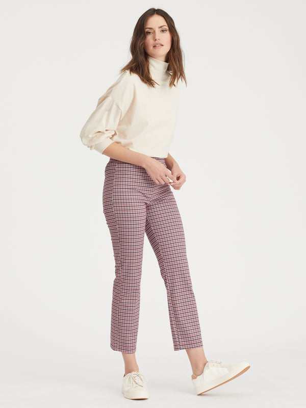 Carnaby Kick Crop Destin Plaid - Destin Plaid / XXS - Pant