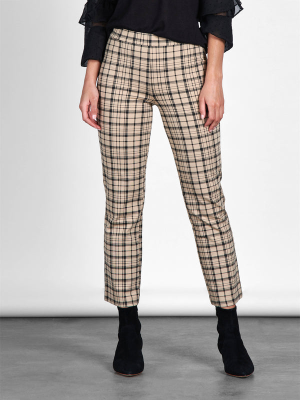 Carnaby Kick Crop Legging Glenwood Plaid