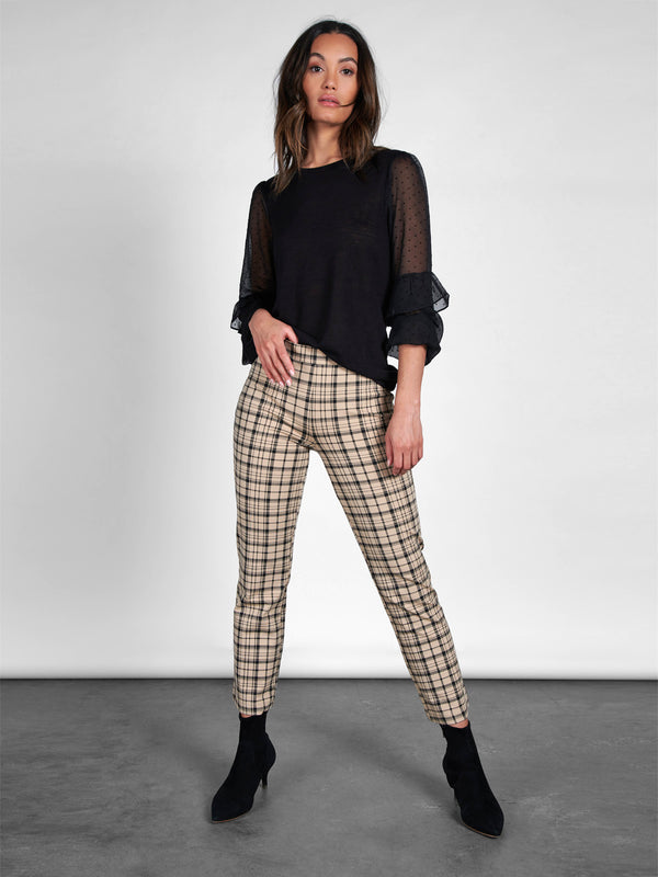 Carnaby Kick Crop Legging Glenwood Plaid - Glenwood Plaid /