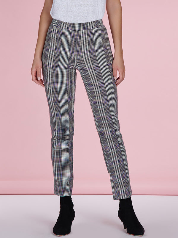Carnaby Kick Crop Tilson Plaid - Legging