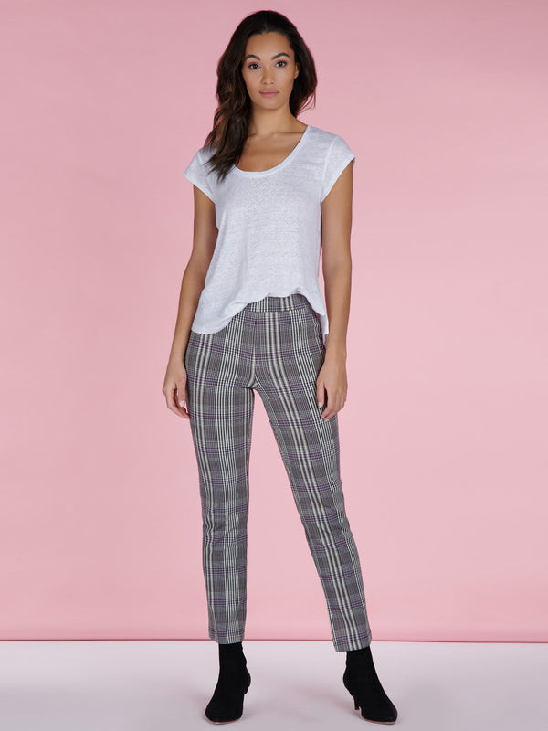 Carnaby Kick Crop Tilson Plaid
