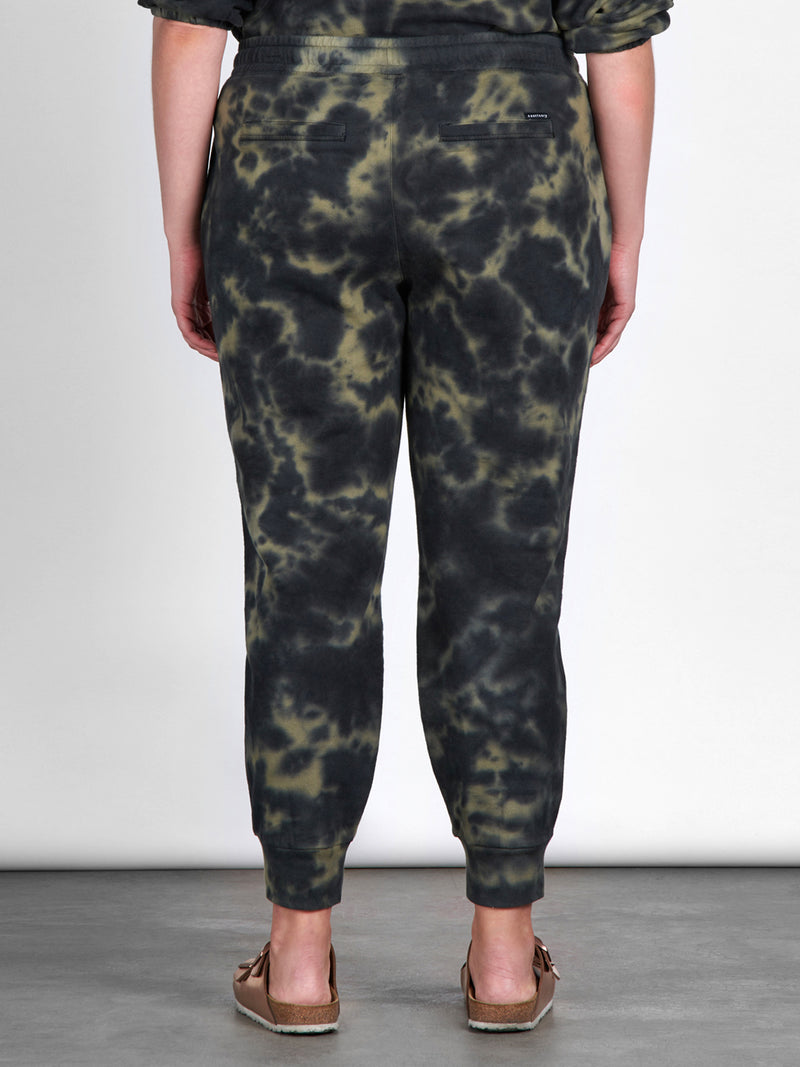 Peace Jogger Green Black Tie Dye Inclusive Collection