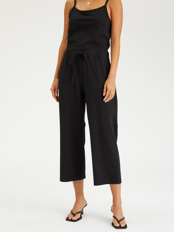 Essential Knit Pant Black