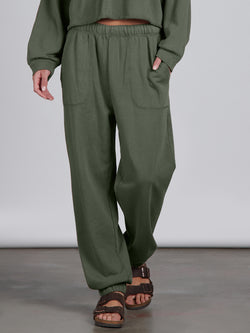 Perfect Sweatpant Organic Green - Organic Green / XS/S -