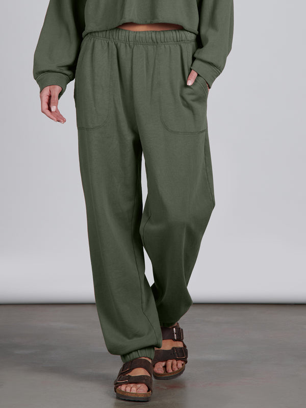 Perfect Sweatpant Organic Green