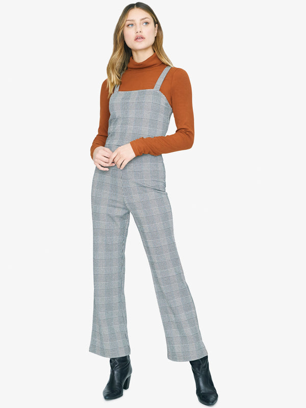 Check You Later Jumpsuit Earthstone Check