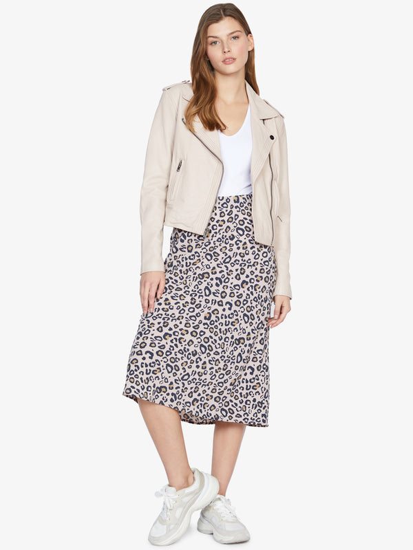 Everyday Midi Skirt Neutral Spots