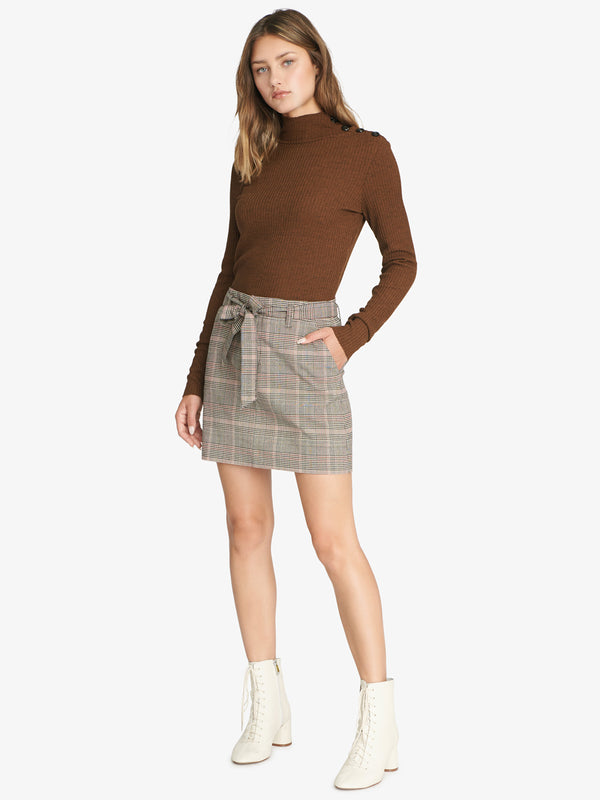 Inland Sashed Skirt Marlow Plaid