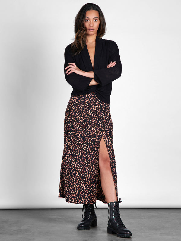 Capture Maxi Skirt Tortoise Spots