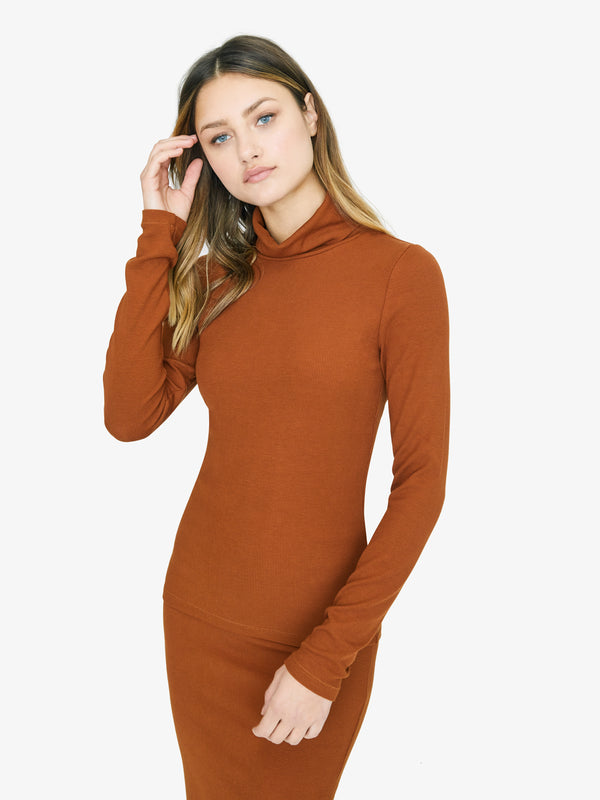 Essential Turtleneck Earthstone
