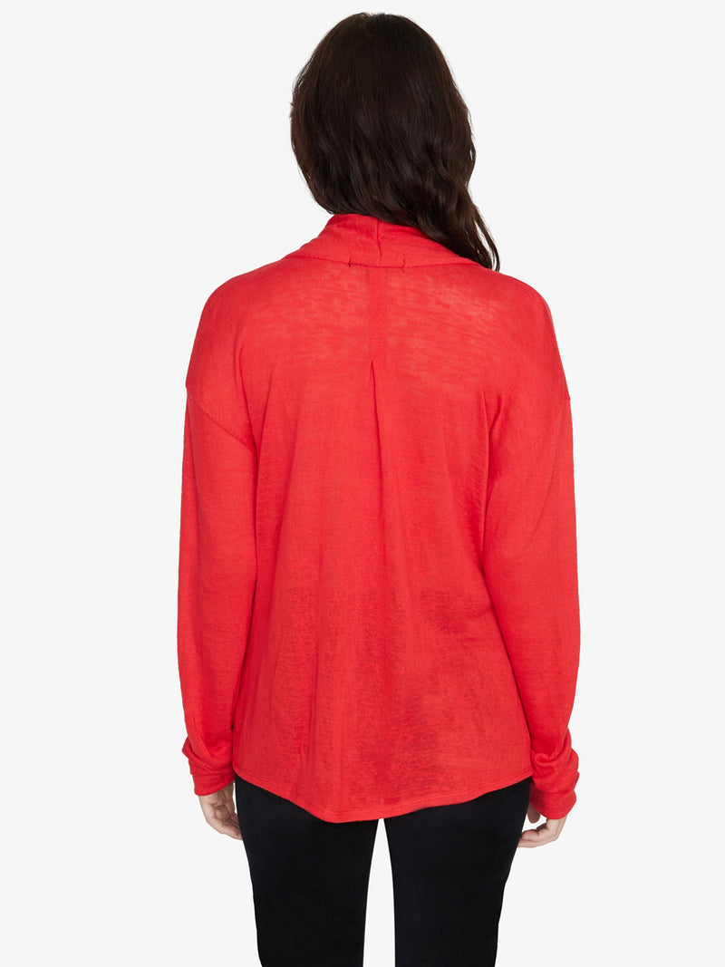 Knot Interested Top Party Red