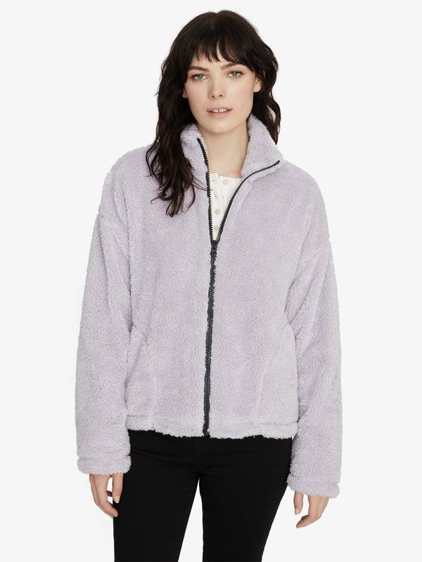 Reena Zip Up Jacket Lilac Snow