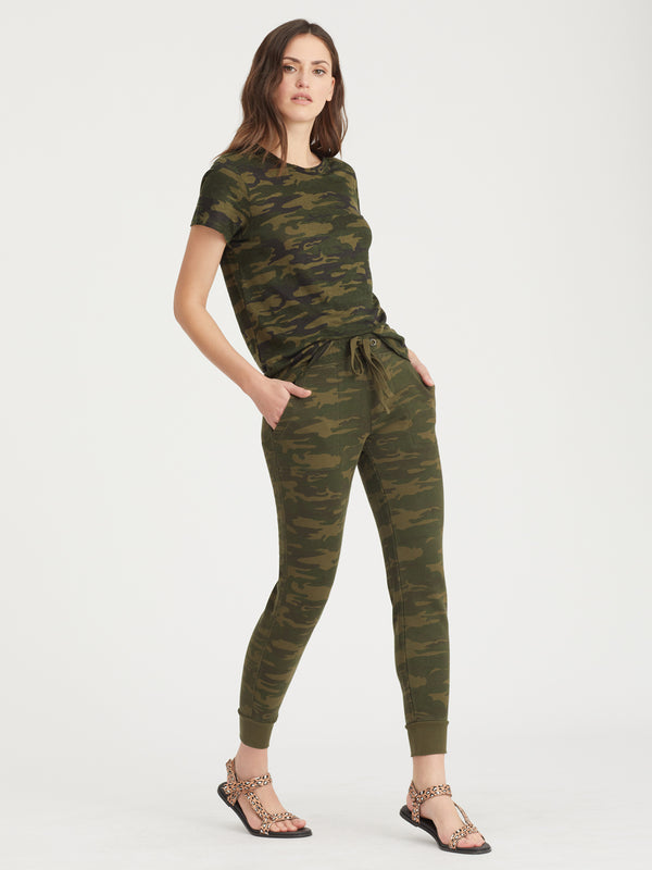 The Perfect Tee Mother Nature Camo - Knit Top