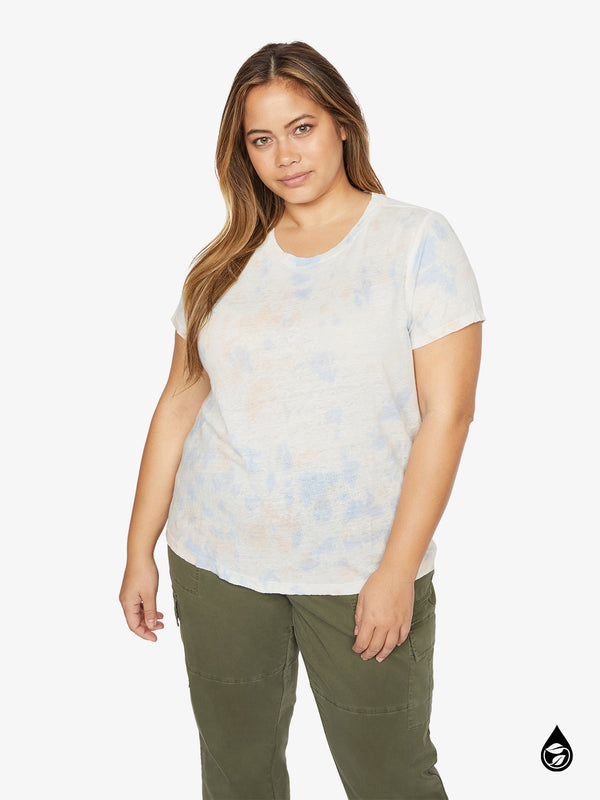 The Perfect Wash Tee Blue Cloud Inclusive Collection