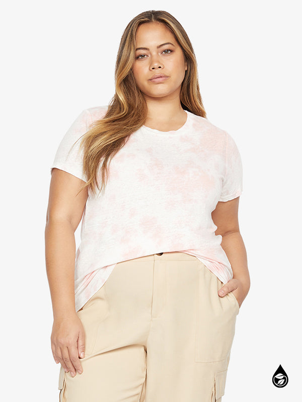 The Perfect Wash Tee Pink Cloud Inclusive Collection
