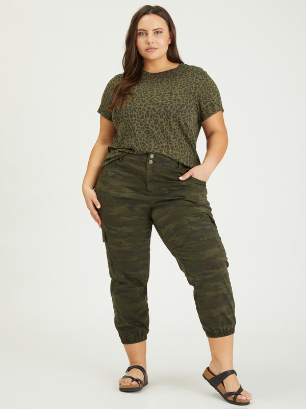 The Perfect Tee Camo Leo Inclusive Collection