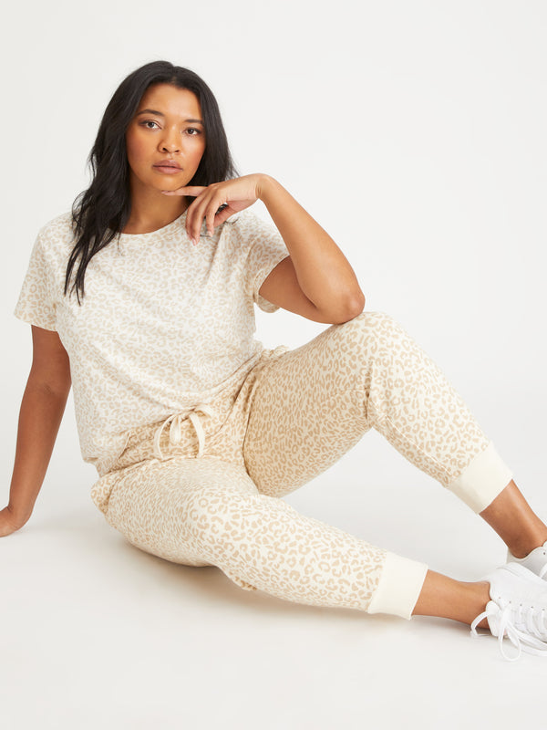 Peace Jogger Barely Leopard Inclusive Collection