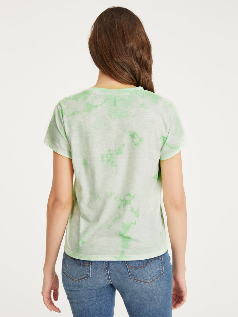The Perfect Tee Pistachio Tie Dye