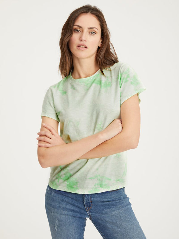 The Perfect Tee Pistachio Tie Dye - Pistachio Tie Dye / XXS