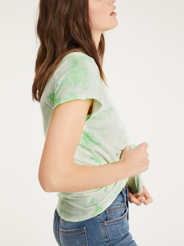 The Perfect Tee Pistachio Tie Dye - Knit Top