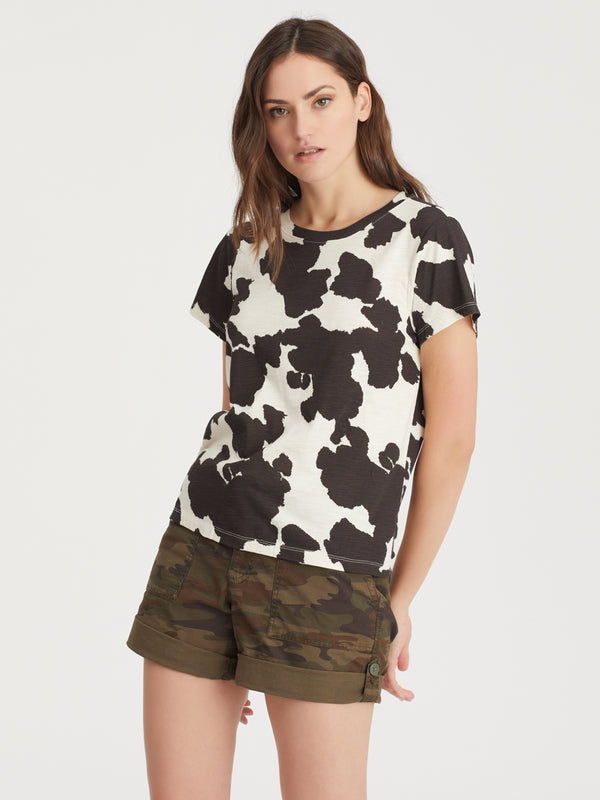 The Perfect Tee Pony Print - Knit Top