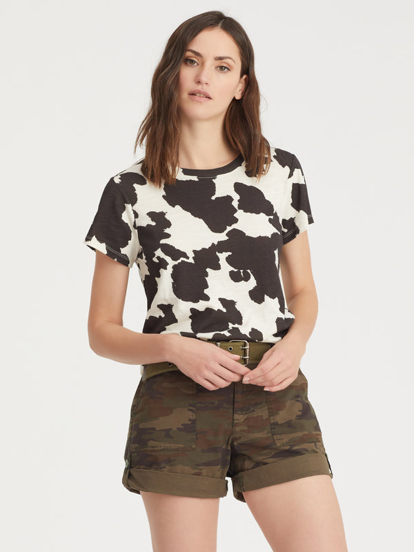 The Perfect Tee Pony Print - Pony Print / XXS - Knit Top