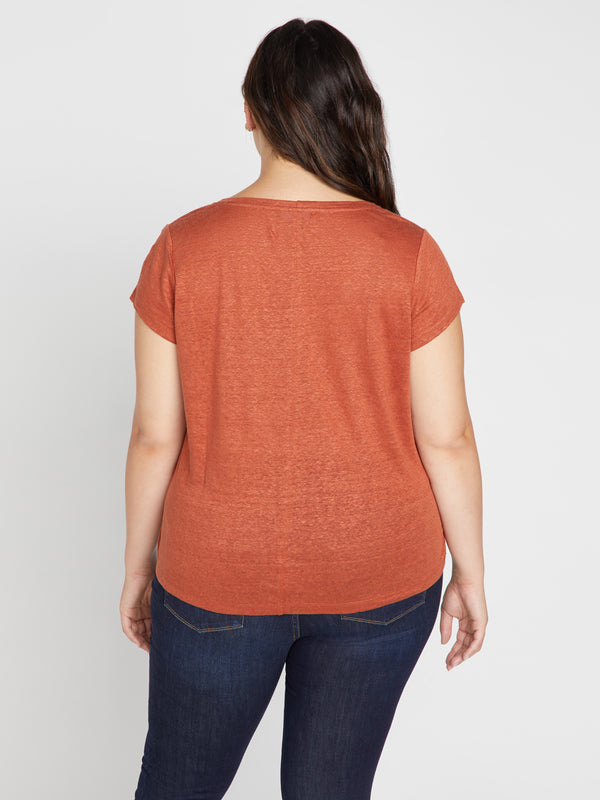Alma Scoop Tee Dusk Inclusive Collection