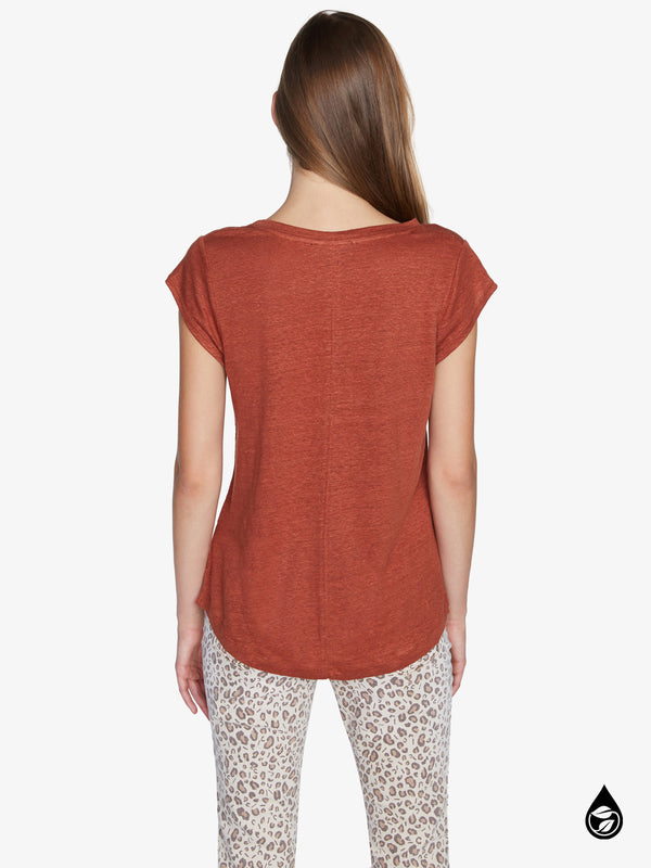 Alma Scoop Tee Dusk