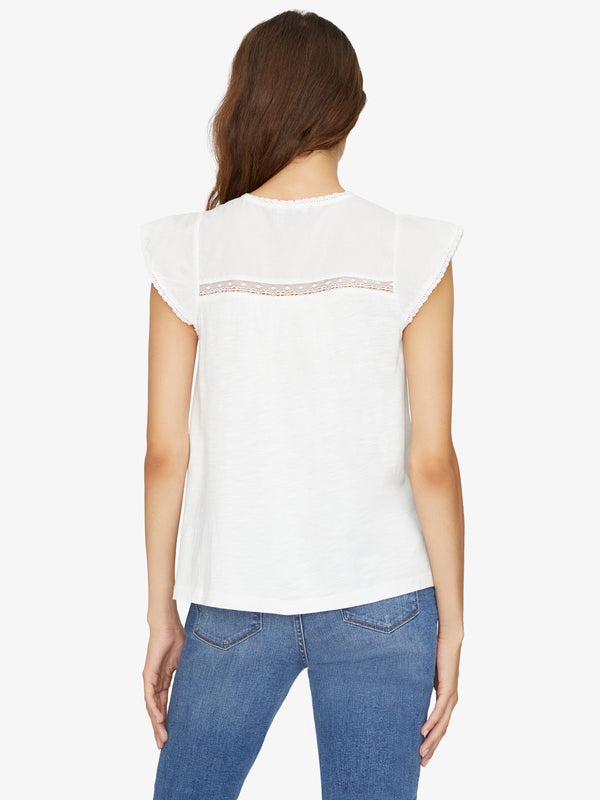 Iva Heirloom Tee White Jasmine