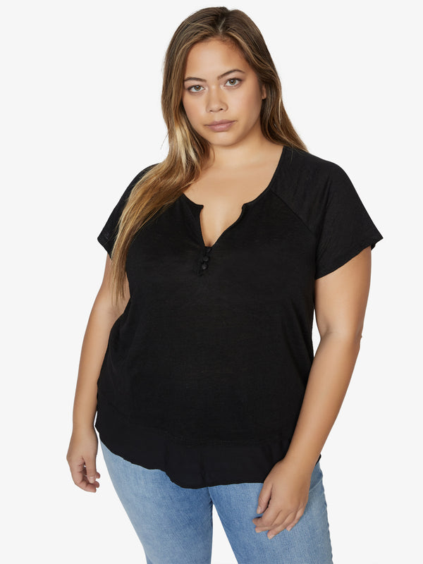 Flirt Mix Tee Black Inclusive Collection