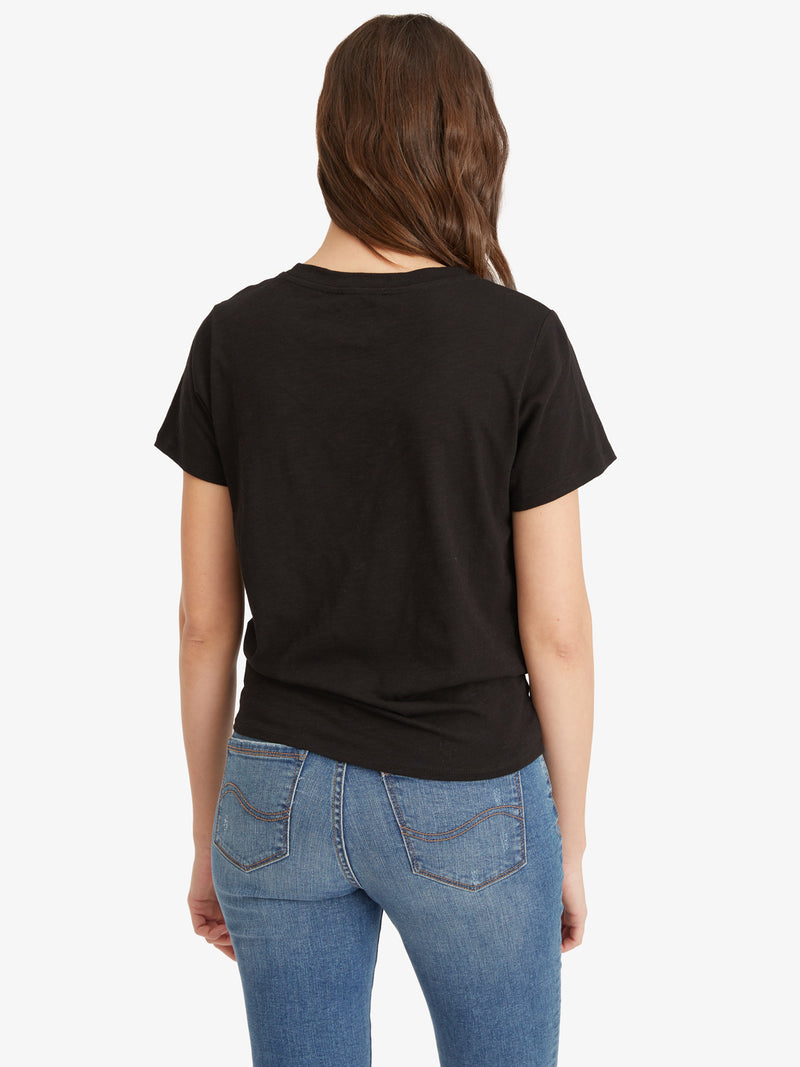 Perfect Knot Tee Black