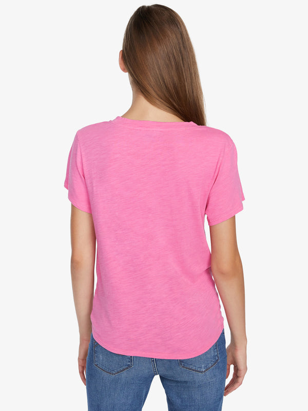Perfect Knot Tee Hot Pink