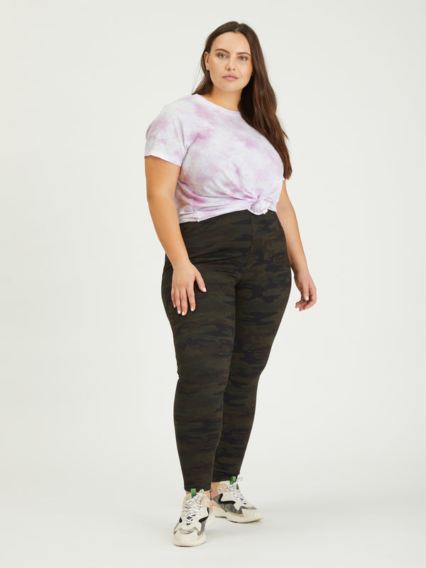 Perfect Knot Tee Lavender Ice Tie Dye Inclusive Collection -